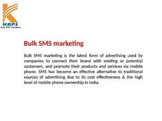 Cheapest Bulk SMS Service Provider in India