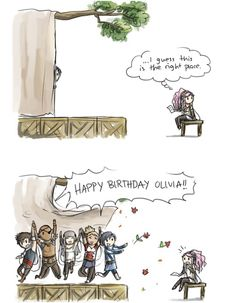 Olivia's birthday!! Emilia's Scribbles HAPPY BIRTHDAY OLIVIA!!!