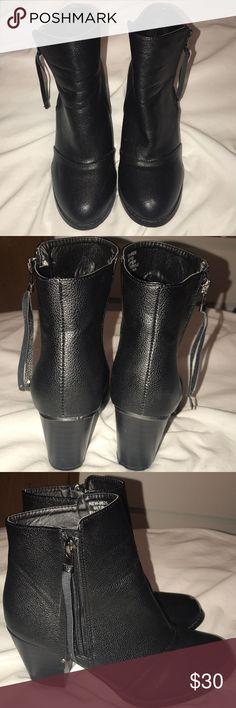 Black Booties Black Booties with heel Rue 21 Shoes Ankle Boots & Booties