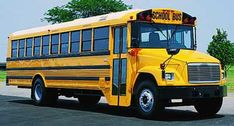 The Retired Thomas Built School Bus School Buses, Commercial Vehicle, High Point, Model Trains, Blue Bird, Trucks, It Works, History, Campers