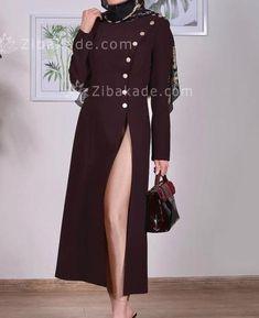 آموزش دوخت مانتو الگو رو از خطوط صورتی - زیباکده Dresses With Sleeves, Long Sleeve, Fashion, Moda, Sleeve Dresses, Long Dress Patterns, Fashion Styles, Gowns With Sleeves, Fashion Illustrations