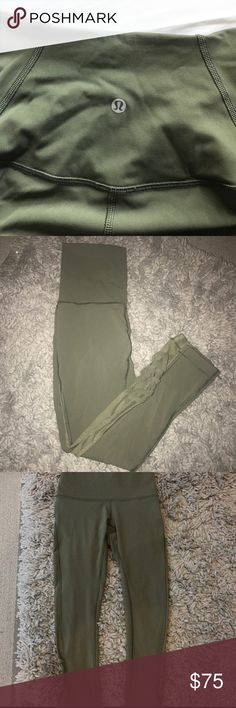 RARE lulu lemon leggings LIMITED EDITION MESH Crop Will trade for align II length 7/8 size 2 ONLY lululemon athletica Pants
