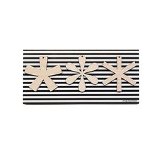 Image of SNUG.TYPOSTARS set of 3 pendants + greeting card