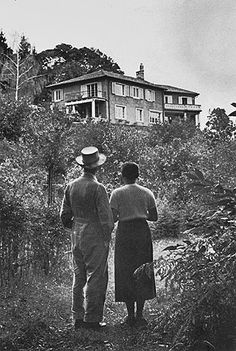 Hermann Hesse at Montagnola