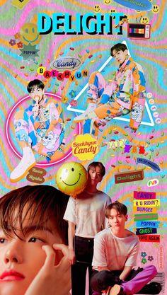 Baekhyun Wallpaper, Bts Wallpaper, Kpop Posters, Retro Posters, Retro Graphic Design, Graphic Design Posters, Kpop Backgrounds, Exo Lockscreen, Founding Fathers