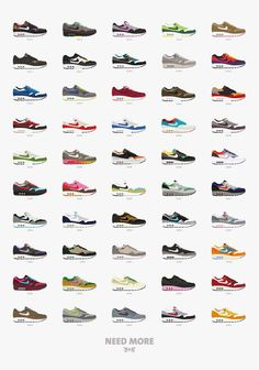 Nike Air Max One - colors