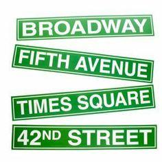 New York City Street Sign Cutouts by Century Novelty, http://www.amazon.com/dp/B0035A343C/ref=cm_sw_r_pi_dp_O4Dwrb1T55DXA