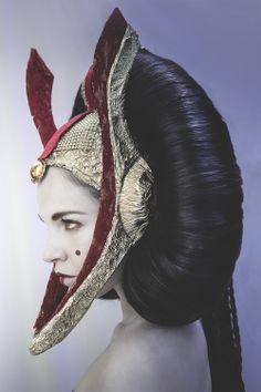 Coiffure Padmé Amidala. Hair: Ghislaine Sant MUA: Corine Blot Model: Janie Otis Photographer: Frederic Faddoul