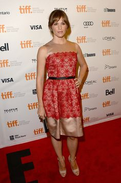 Fabulously Spotted: Jennifer Garner Wearing Dolce & Gabbana - 'Dallas Buyers Club' Premiere  2013 Toronto International Film Festival - http://www.becauseiamfabulous.com/2013/09/jennifer-garner-wearing-dolce-gabbana-dallas-buyers-club-premiere-2013-toronto-international-film-festival/