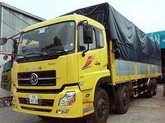 xe tải thùng khung mui dongfeng 8 tấn