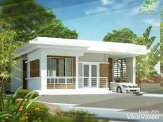 small house design inside with modern tiny house prefab with house paint brands for house plans modern - Best Home Interior Design Modern Small House Design, Simple House Design, House Front Design, Minimalist House Design, Small House Interior Design, Home Interior, Modern Bungalow House, Bungalow House Plans, Modern House Plans