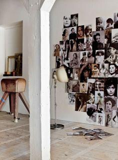 Foto hart - Pimp up your wall Photo Decoration Ideas, Decoration Inspiration, Interior Inspiration, Inspiration Wall, Wall Decorations, Make Your Own Wallpaper, Picture Wall, Photo Wall, Photowall Ideas