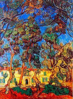 Madhouse Garden // Vincent Van Gogh