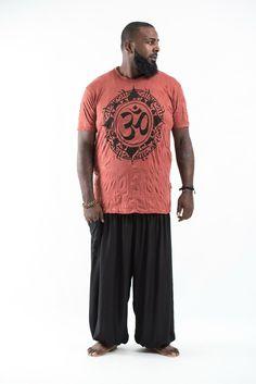Plus Size Men's Infinitee Ohm T-Shirts Brick