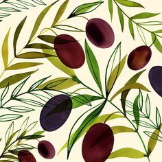 Margaret Berg Art: Olive+Branch+