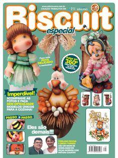 Coleção Trabalhos em Biscut Esp. 35  Revista de artesanato; Editora Minuano