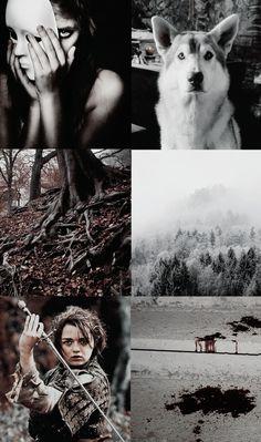 Collage based on Arya stark  #got #gameofthrones #aesthetic #collage #cool #arya