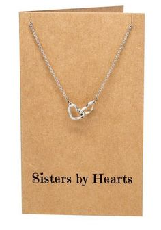 37b48c2d9 Freeda Happy Birthday Sister Necklaces, Best Friend Jewelry Gifts – Quan  Jewelry Bff Necklaces,