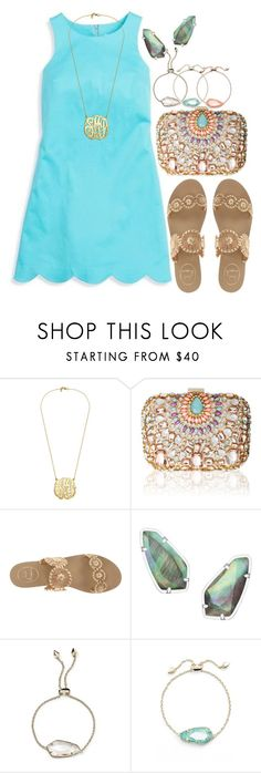 """nice dinner with family//#sophiesislandvacation"" by a-little-prep-in-your-step ❤ liked on Polyvore featuring Southern Tide, Lipsy, Jack Rogers, Kendra Scott and sophiesislandvacation"