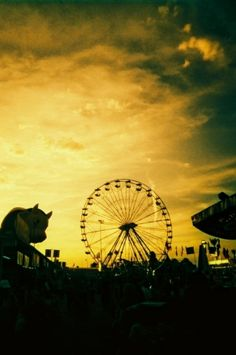 Fairs, oh my, I enjoy them so much more as an adult. Horrible story, my Mama had made hot dogs & kraut for dinner & insisted I eat before I went on a date to the fair. I was 16, let's just say the octopus ride got the better of me. Still can't stand the smell of kraut today, and my husband loves it. Another occasional test, oh well.