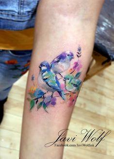 Future Tattoos, Love Tattoos, Beautiful Tattoos, Body Art Tattoos, Random Tattoos, Bird Tattoos, Tatoos, Watercolour Tattoos, Hummingbird Tattoo Watercolor