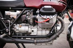 Moto Guzzi, Custom, Vinatge, Motorcycle, Brooklyn, Moto Borgotaro. Photo by @Ryanhandt / Ryanhandt.com