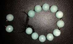 Sky blue turquoise colour faceted quartzite by Druzyfloozy on Etsy