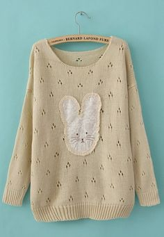This would be my new home. Favorite sweater ever! ♥