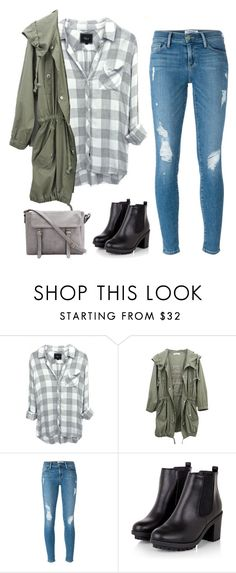 """back to school in style"" by niclex ❤ liked on Polyvore featuring Frame Denim"