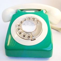 Vintage rotary phones from the British General Post Office
