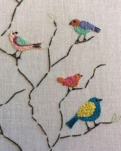 • pequeninos • #embroidery #bordado