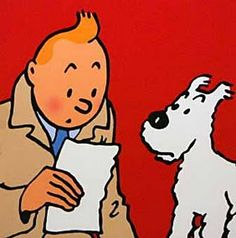 I am Hergé's #1 female fan under 30...seriously, I don't think there's anyone else!