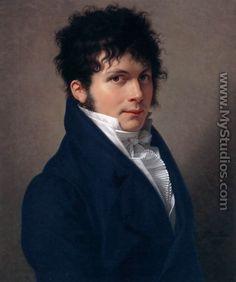 Portrait of a Man 1809 - Francois-Xavier Fabre
