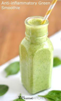 Anti-inflammatory green smoothie #weightlossfast