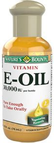 Vitamin E-Oil 30,000 IU 2.5 fl. oz. I swear by this !