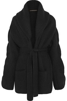 Agnona Ribbed wool and cashmere-blend cardigan | NET-A-PORTER
