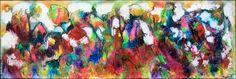NEW PAINTING  Diversity I  40x120 cm  My website: https://artbylonfeldt.dk/  #art #arts #paintings #painting #fineart #artbylonfeldt