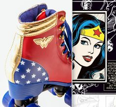 Wonder Woman Roller Skate 2016 - Bel Fix #patins #mulhermaravilha