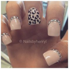 Nails: glitter on the top, not bottom, to prolong grow-outs!