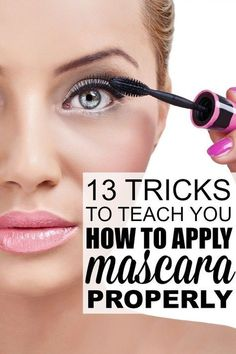 If you're looking for the best #mascara tips to teach you how to apply mascara perfectly, this collection of mascara tutorials is just what you need! With 13 fantastic tricks from my favorite makeup artists, you will learn how to get thick, sexy, and voluminous eyelashes, how to apply mascara to short, straight lashes, how to get clump-free lashes, how to keep your eyelashes curled all day, how to correct mascara mistakes, and the top 10 best mascaras on the market. Good luck!