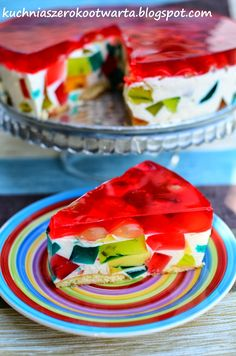 Extreme Food, Sweets Cake, Polish Recipes, Coffee Break, Cheesecakes, Sweet Recipes, Watermelon, Sandwiches, Food And Drink
