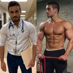 Body Transformation Program, Daily Fashion, Mens Fashion, Healthy Lifestyle Habits, Men In Uniform, Athletic Men, Muscle Men, Stylish Men, Workout Programs