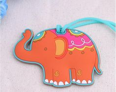 """Lucky Elephant"" Luggage Tag"