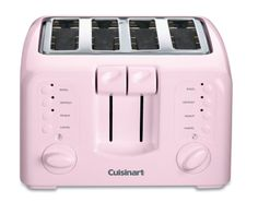 Amazon.com: Cuisinart CPT-140PK Electronic Cool-Touch 4-Slice Toaster, Pink: Kitchen & Dining