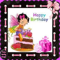 Betty Boop Birthday Wishes - Wishes . Happy Birthday Betty Boop, Happy Birthday Mary, Happy Birthday Images, Happy Birthday Greetings, Birthday Wishes, Happy B Day, Happy Mothers Day, Birthday Emoticons, Betty Boop Figurines