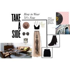 How to wear Now ! Beautiful Places, Shoe Bag, Polyvore, Stuff To Buy, Design, Dress