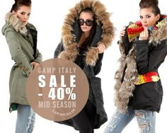 GAMP Italy * SALE FW14 * Onlineshop www.lapurpura.de #bohemian #boho #jacke #jacket #parka #patchwork #sale #fw14