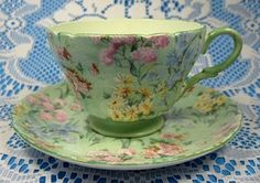 Shelley Cup and Saucer Melody Chintz Henley England