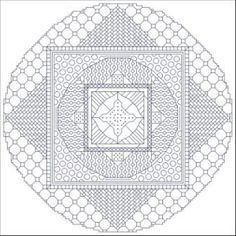Full Circle: Free Mandala Cross Stitch Charts