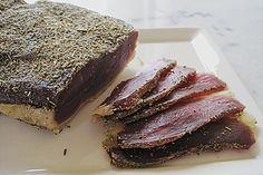 Getrocknete Entenbrust (Rezept mit Bild) von schnurzelchen-aus-Landes   Chefkoch.de